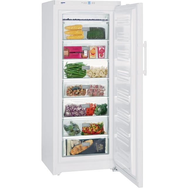 Liebherr Upright Freezer - White - A++ Rated