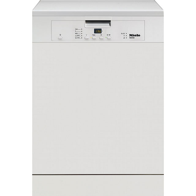 Miele G4203 Standard Dishwasher - White - A+ Rated Best Price, Cheapest Prices