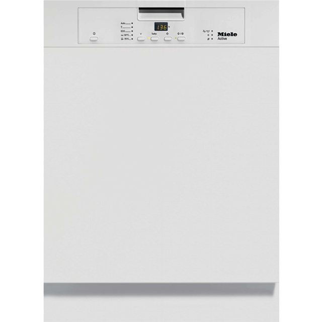 Miele G4203i Semi Integrated Standard Dishwasher - White Control Panel with Fixed Door Fixing Kit - A+ Rated - G4203i_WH - 1