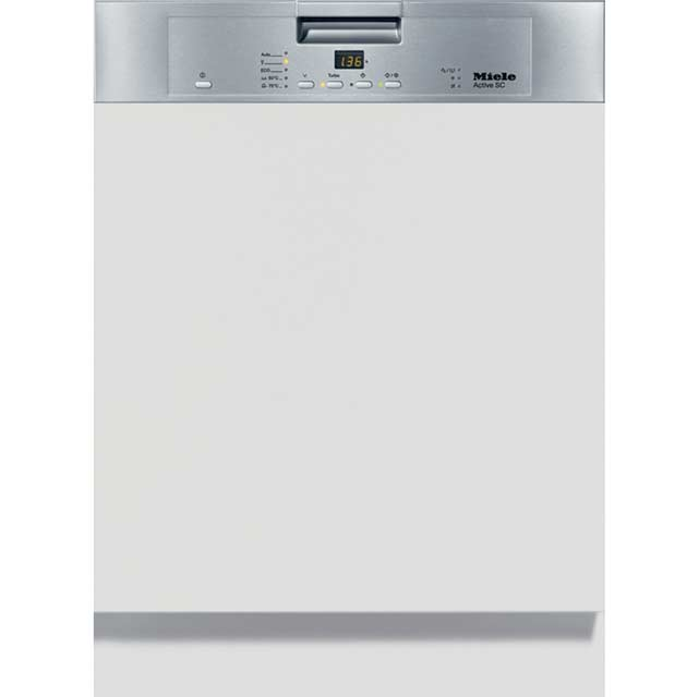 Miele G4203SCi Semi Integrated Standard Dishwasher - Clean Steel Control Panel - A+ Rated - G4203SCi_CS - 1
