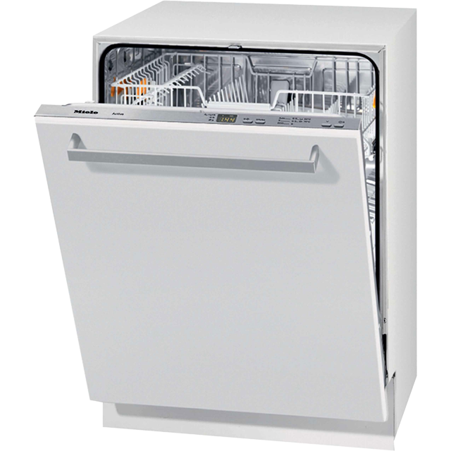 Miele G4263Vi Fully Integrated Standard Dishwasher - Stainless Steel Control Panel with Fixed Door Fixing Kit - A+ Rated - G4263Vi_WH - 1