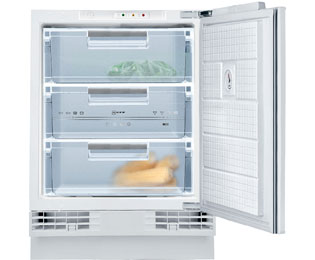NEFF N50 Integrated Under Counter Freezer with Fixed Door Fixing Kit - A+ Rated