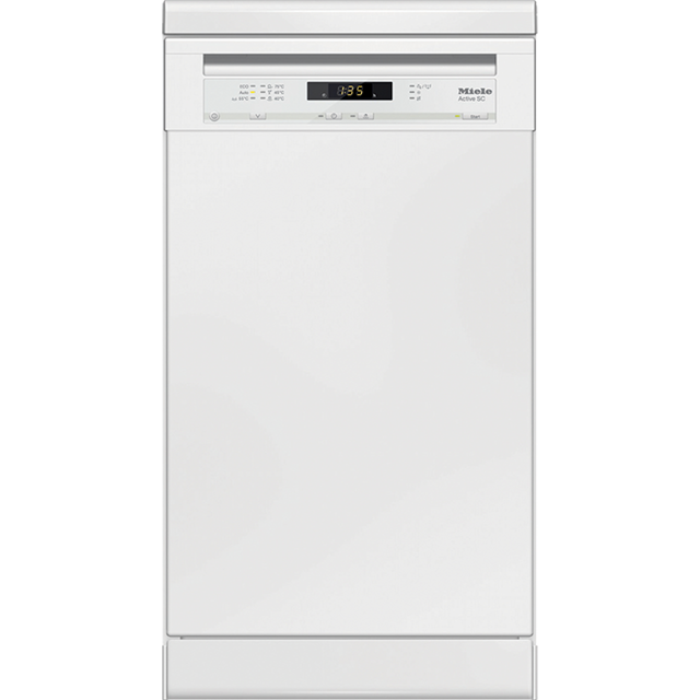 Miele G4620SC Slimline Dishwasher - White - A+ Rated - G4620SC_WH - 1