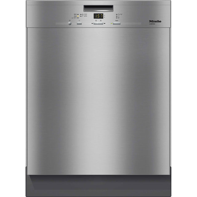 Miele Jubilee G4940BK Standard Dishwasher - Clean Steel - A++ Rated