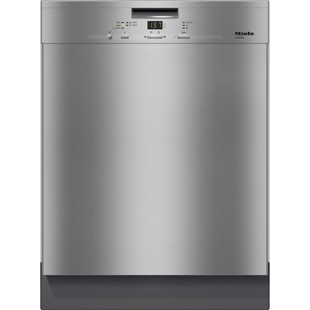 Miele Jubilee G4940BK Standard Dishwasher - Clean Steel - A++ Rated - G4940BK_CS - 1