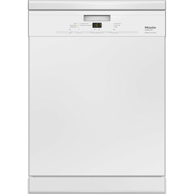 Miele Jubilee G4940BK Standard Dishwasher - White - A++ Rated - G4940BK_WH - 1