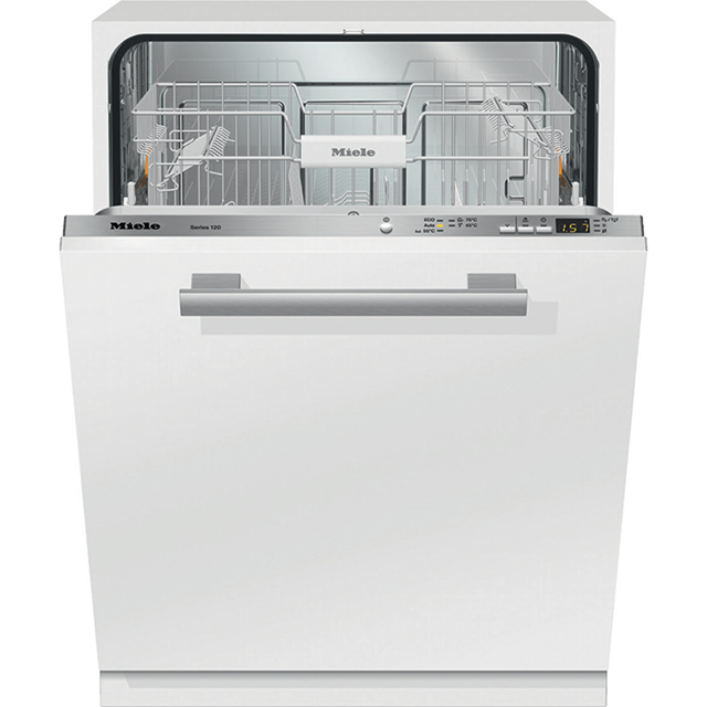 Miele G4982Vi Fully Integrated Standard Dishwasher - Clean Steel Control Panel with Fixed Door Fixing Kit - A+++ Rated - G4982Vi_CS - 1