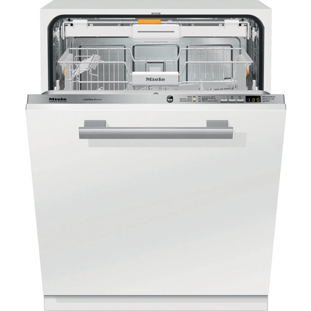 Miele Fully Integrated Standard Dishwasher - Clean Steel with Fixed Door Fixing Kit - A+++ Rated