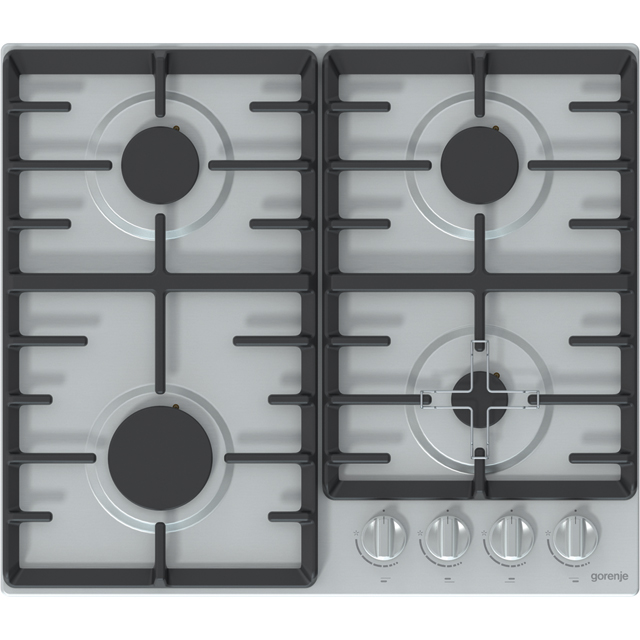Gorenje G641XUK Built In Gas Hob - Stainless Steel - G641XUK_SS - 1