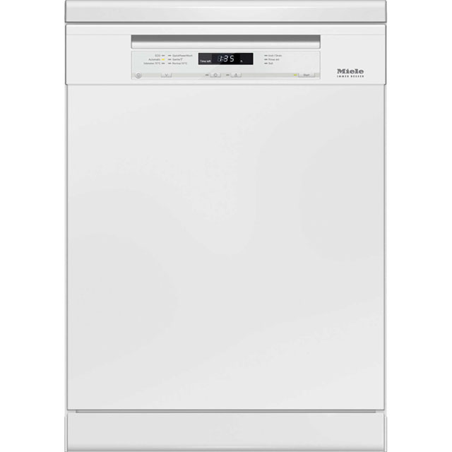 Miele G6620SC Free Standing Dishwasher in White