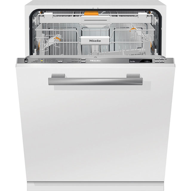 Miele G6775SCViXXL Fully Integrated Standard Dishwasher - Clean Steel Control Panel with Fixed Door Fixing Kit - A+++-10% Rated - G6775SCViXXL_CS - 1