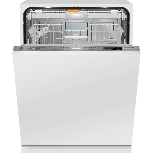 Miele Fully Integrated Standard Dishwasher - Stainless Steel with Fixed Door Fixing Kit - A+++ Rated