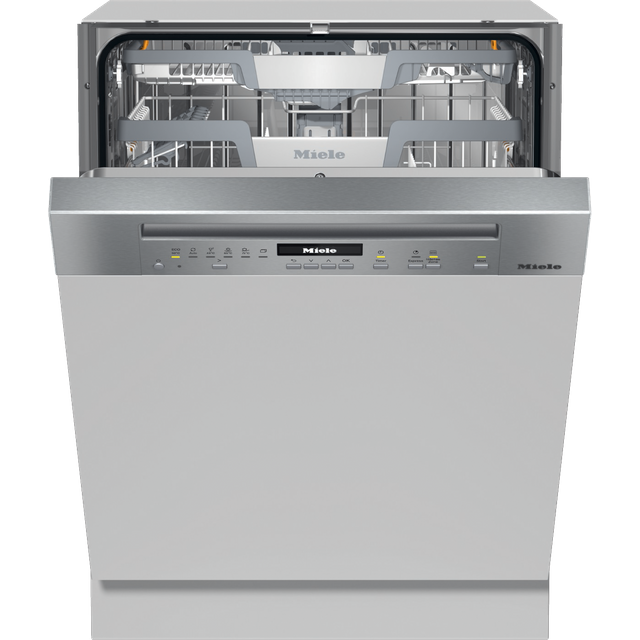 Miele G7100SCi Semi Integrated Standard Dishwasher - White Control Panel with Fixed Door Fixing Kit - A+++ Rated - G7100SCi_CS - 1