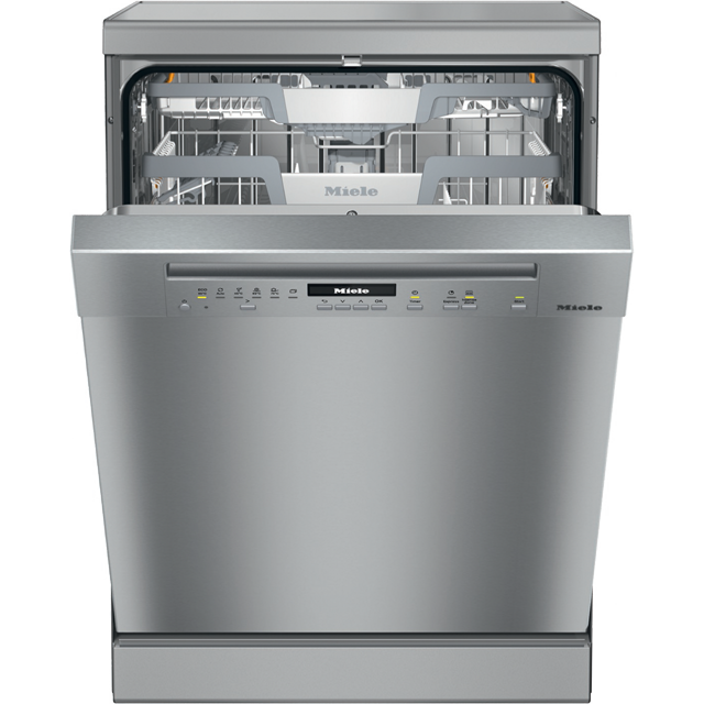 Miele G7102SC Standard Dishwasher - Clean Steel - A+++ Rated