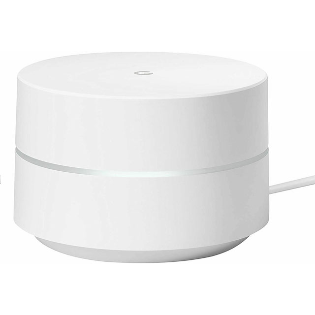 Google WiFi Dual Band AC1200 Mesh Network (1 Pack) - GA00157-UK - 1