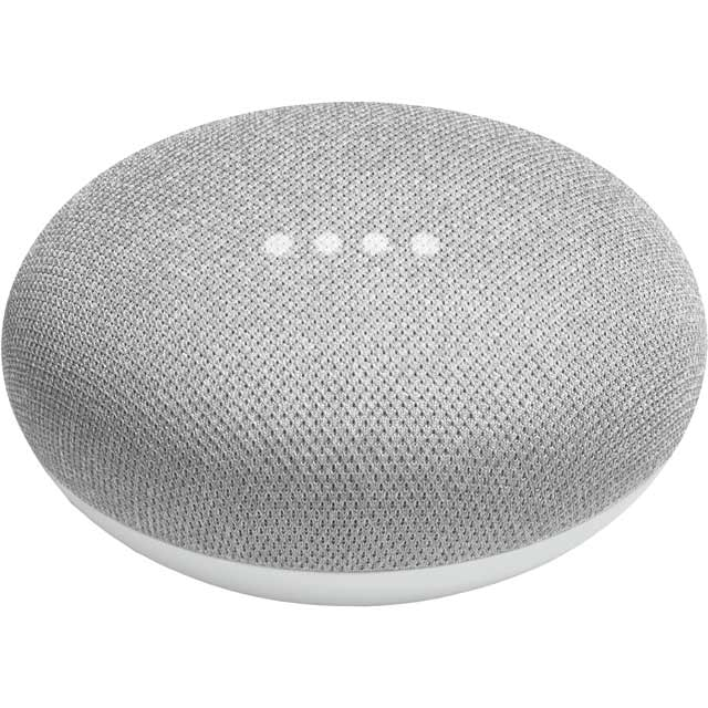 Google Home Mini with Google Assistant - Chalk - GA00210-UK - 1