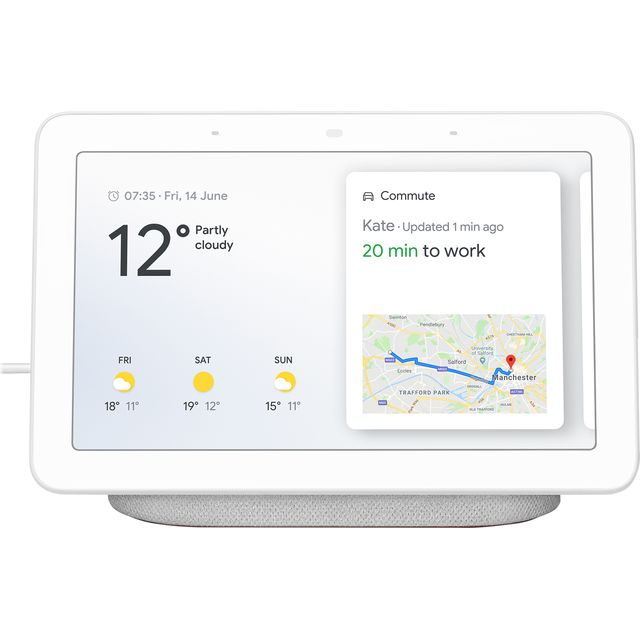 Google Home Hub - Chalk - GA00516-GB - 1