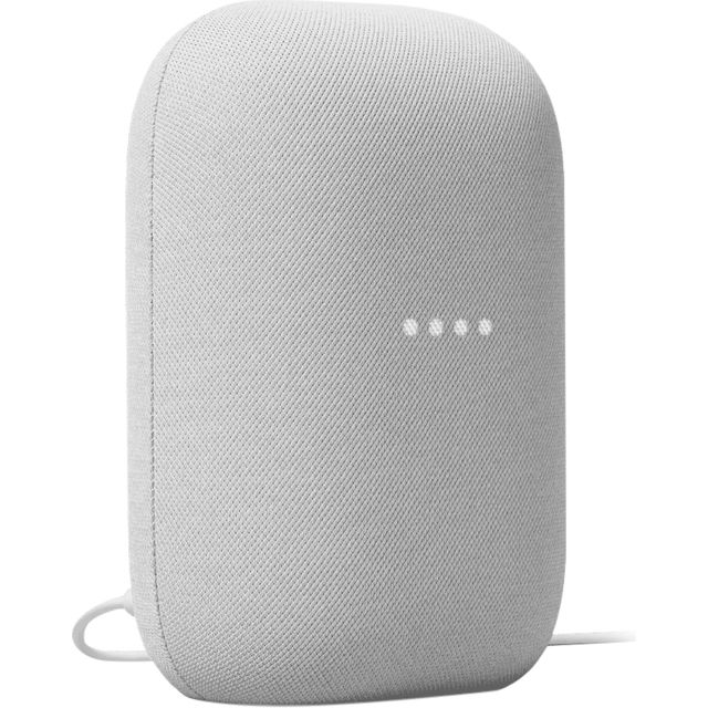 Image of Google Nest Audio with Google Assistant - Chalk
