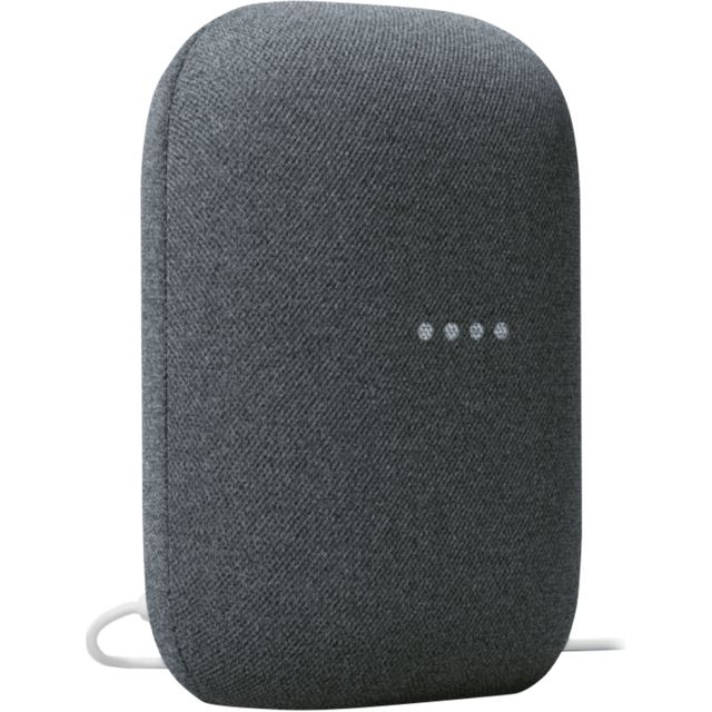 Image of Google Nest Audio with Google Assistant - Charcoal