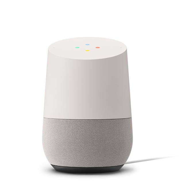 Google Home GA3A00483A04 Smart Speaker - White - GA3A00483A04 - 1