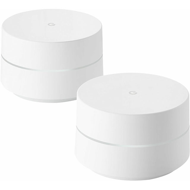 Google WiFi Dual Band AC1200 Mesh Network (2 Pack) - GA3A00492-A04 - 1