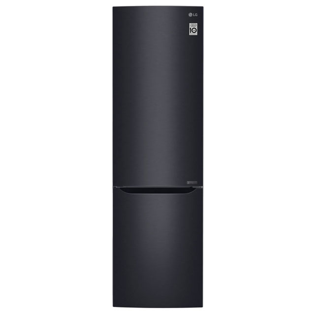 LG 70/30 Frost Free Fridge Freezer - Matt Black - A+++ Rated
