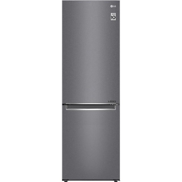 LG GBB61DSJZN 60/40 Frost Free Fridge Freezer - Graphite - A++ Rated - GBB61DSJZN_GH - 1