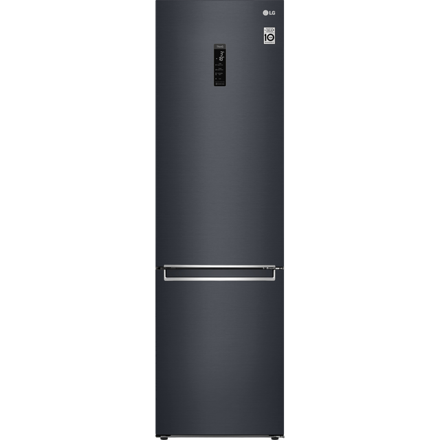 LG GBB72MCUFN Fridge Freezer - Matte Black - GBB72MCUFN_MB - 1
