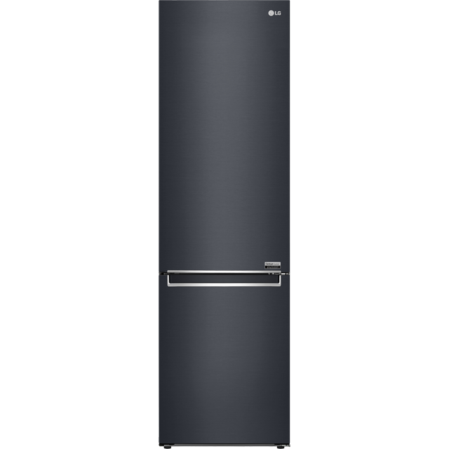 LG Centum™ GBB92MCBKP Wifi Connected 70/30 Frost Free Fridge Freezer - Matte Black - A+++ Rated - GBB92MCBKP_MBK - 1