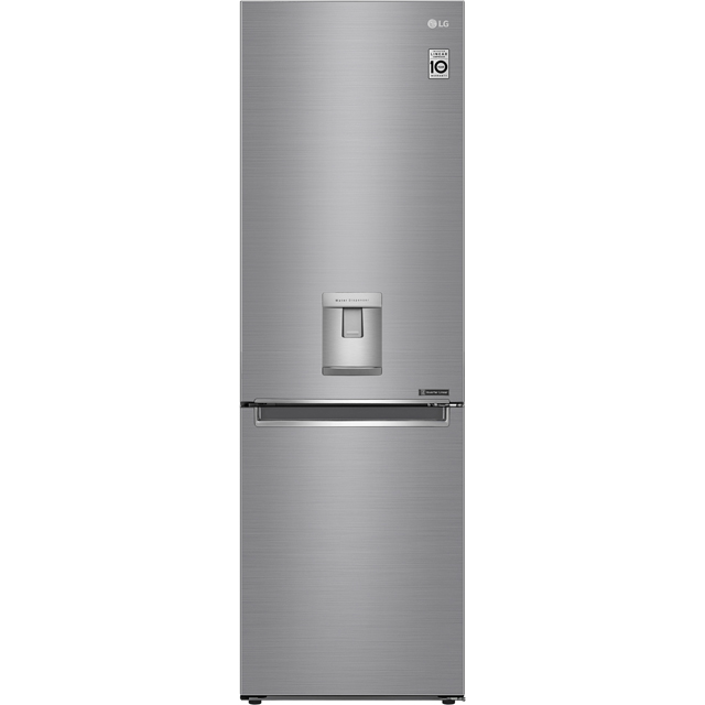LG GBF61PZJZN 60/40 Frost Free Fridge Freezer - Steel - A++ Rated - GBF61PZJZN_ST - 1