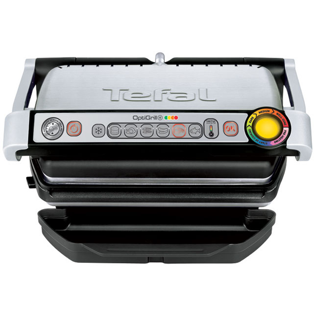 Tefal OptiGrill+ Health Grill - Silver