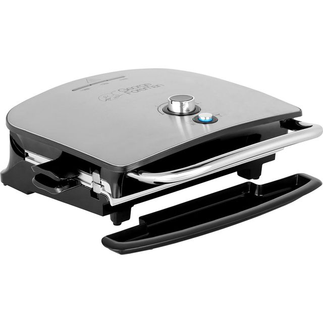 George Foreman Grill & Melt Advanced 22160 Health Grill - Silver - 22160_SI - 1