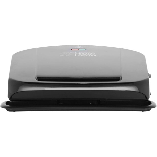 George Foreman Family With Removable Plates 20840 Health Grill in Black