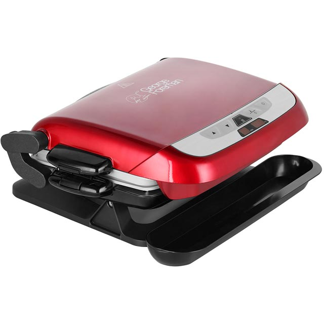 George foreman 21611 evolve health grill with removable plates red new from ao ebay - Health grill with removable plates ...