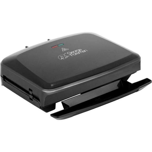 George Foreman Family 5 Portion Health Grill - Black