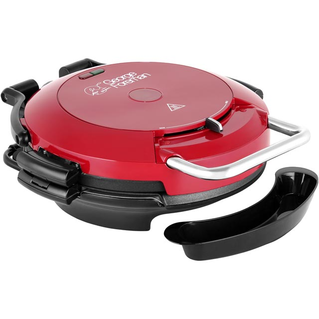 George Foreman Entertaining 360 Grill Health Grill - Red - 24640_RD - 1