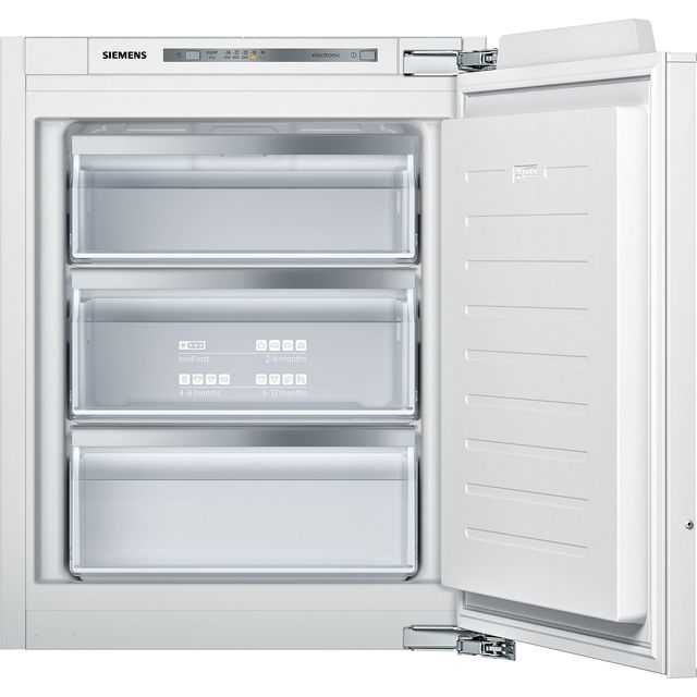 Siemens IQ-500 GI11VAFE0 Built Under Under Counter Freezer - White - GI11VAFE0_WH - 1