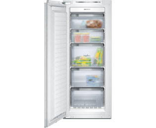 Siemens IQ-500 GI25NP60 Integrated Frost Free Upright Freezer with Fixed Door Fixing Kit - A++ Rated - GI25NP60_WH - 1