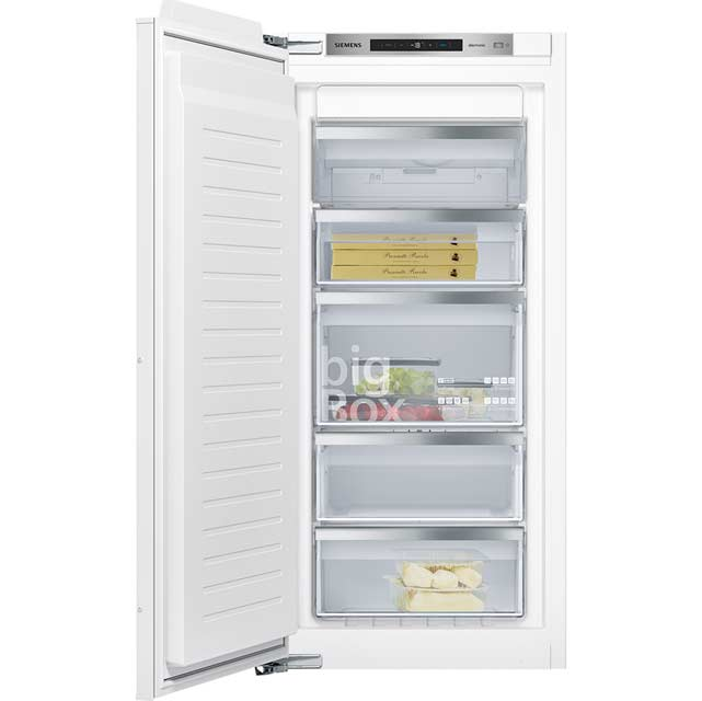 Siemens IQ-500 GI41NAE30G Integrated Frost Free Upright Freezer with Fixed Door Fixing Kit - A++ Rated - GI41NAE30G_WH - 1