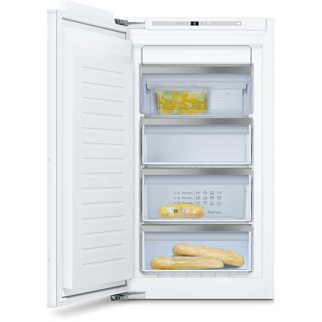 NEFF N70 GI7313E30G Integrated Frost Free Upright Freezer with Fixed Door Fixing Kit - A++ Rated - GI7313E30G_WH - 1