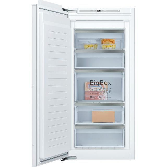 NEFF N70 GI7416CE0 Built In Upright Freezer - White - GI7416CE0_WH - 1