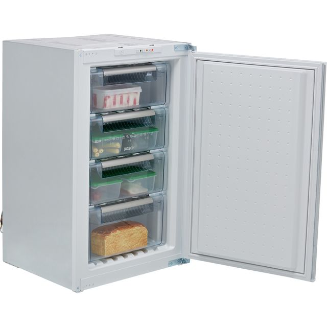 Bosch Serie 4 GID18ASE0G Integrated Under Counter Freezer with Sliding Door Fixing Kit - E Rated