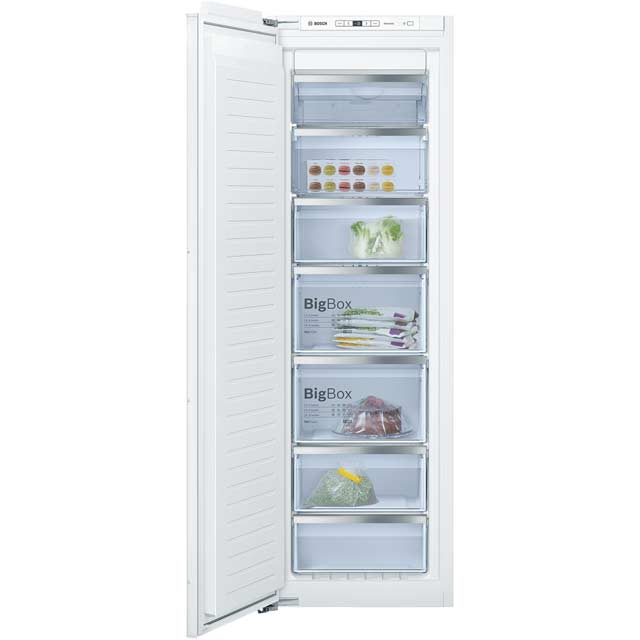 Bosch Serie 6 Integrated Frost Free Upright Freezer with Fixed Door Fixing Kit - A++ Rated