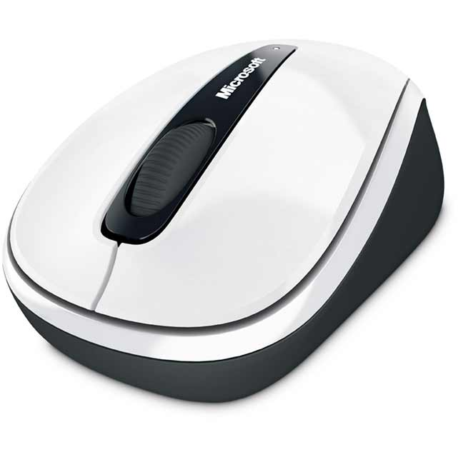 Microsoft Mobile 3500 Mouse - White - GMF-00196 - 1