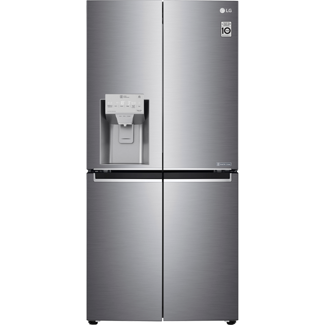 LG GML844PZKV Wifi Connected American Fridge Freezer - Steel - A+ Rated