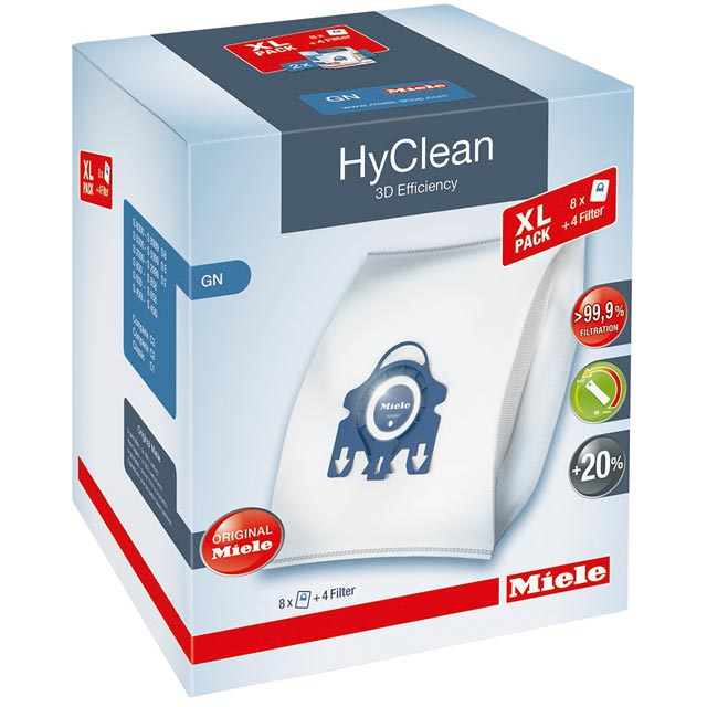 Miele Hyclean 3D Efficiency Dustbag GN XL Pack