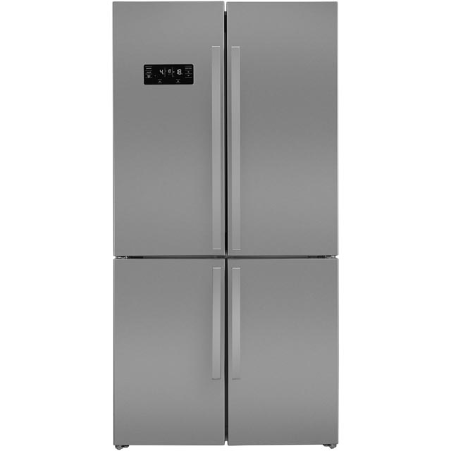 Beko GN1416221ZX American Fridge Freezer - Stainless Steel - A+ Rated - GN1416221ZX_SS - 1