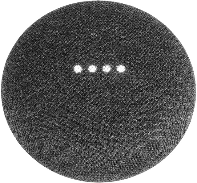 Google Home Mini Smart Speaker GA00216-UK Smart Speaker in Anthracite