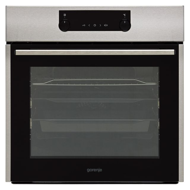 Gorenje BO737E30X Built In Electric Single Oven - Stainless Steel - A Rated - BO737E30X_SS - 1