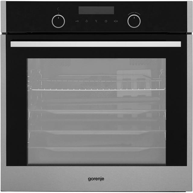 Gorenje Superior Line BO747S30X Built In Electric Single Oven - Stainless Steel - A+ Rated - BO747S30X_SS - 1
